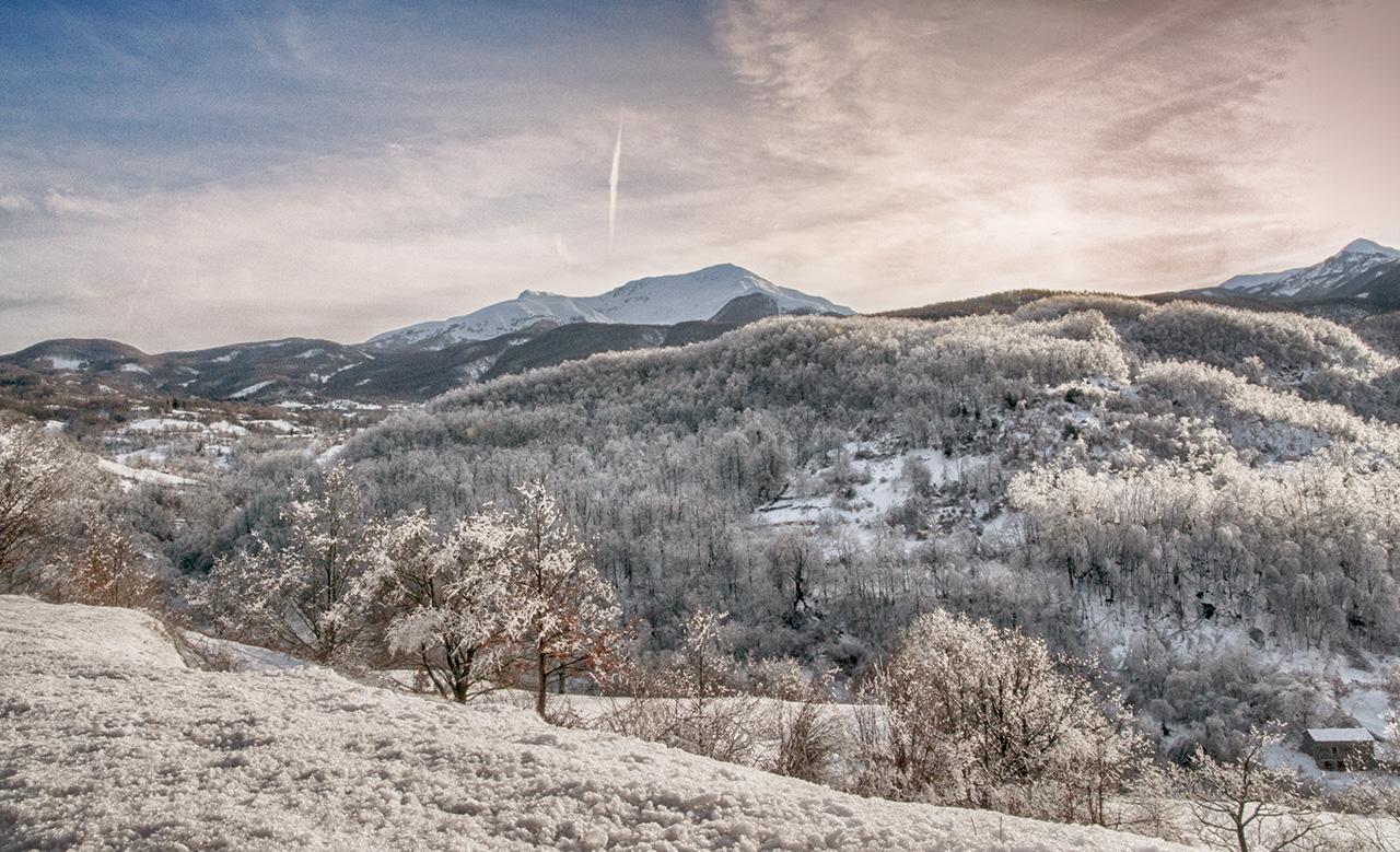 Casarola e alpe d'inverno