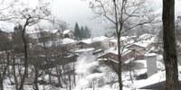 Panorama invernale di Varvilla